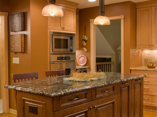 Golden Oak Cabinets Granite Countertops Quotes